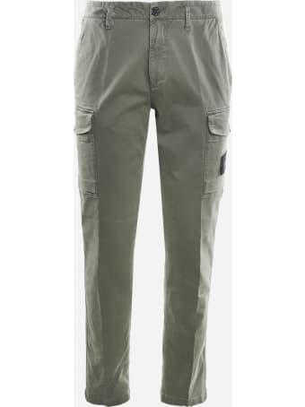 Stone Island Stretch Cotton Cargo Pants
