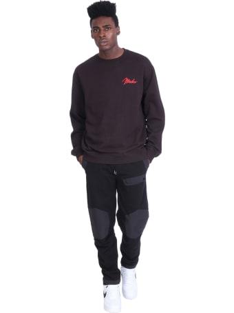 Maharishi Sweatshirt In Black Cotton