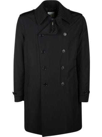 Aspesi Double-breasted Plain Short Coat