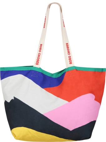 Bobo Choses Multicolor Bag For Kids With Patch Logo
