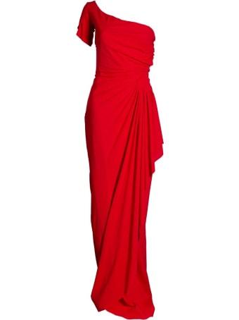 La Petit Robe Di Chiara Boni Aleksandrina One-sleeve Dress