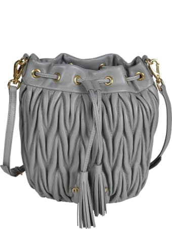 Miu Miu Matelassé Bucket Bag