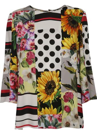 Dolce & Gabbana Flower Printed Top