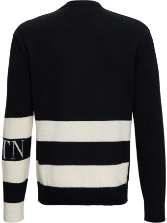 Valentino Wool Sweater With Vltn Logo