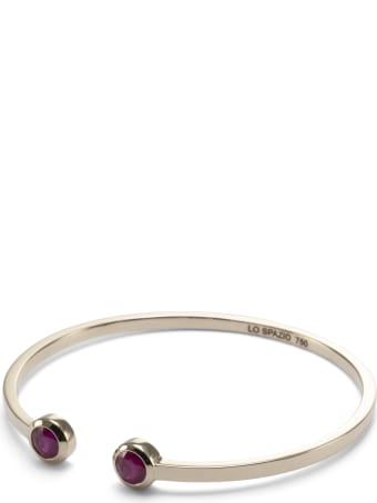 Lo Spazio Jewelry Lo Spazio Burmese Ruby Bangle
