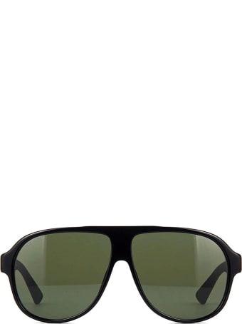 Gucci Gucci Gg0009s Black Sunglasses