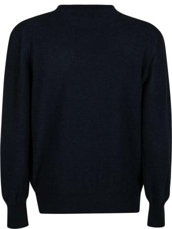 Maison Flaneur Plain Ribbed Sweater