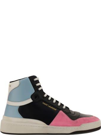Saint Laurent Sl24 High Top Sneakers