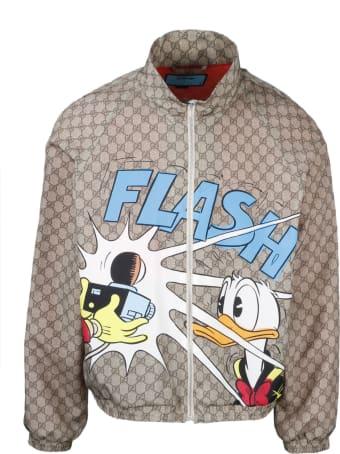 Gucci Gg Donal Duck Disney X Blouson