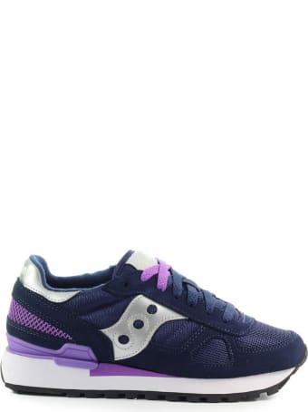 Saucony Shadow Original Navy Blue Purple Sneaker