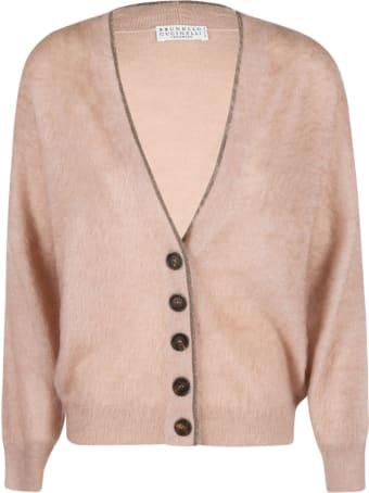 Brunello Cucinelli V-neck Buttoned Cardigan