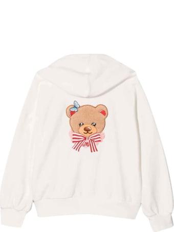 Monnalisa Cream Sweatshirt