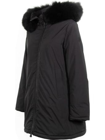 People Of Shibuya Flared Jacket With Fur