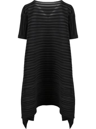 Pleats Please Issey Miyake Pleated Mini Dress