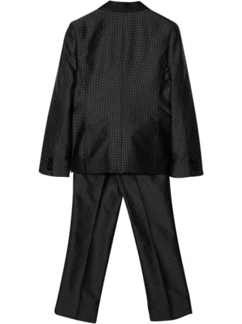 Dolce & Gabbana Two-piece Black Polka Dot Set