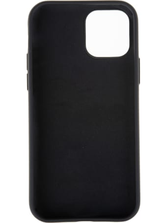 Palm Angels Black Iphone 12 Pro Case With Maxi Star Eyes Teddy Print