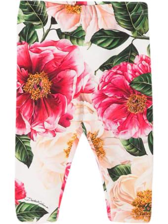 Dolce & Gabbana Floral Leggings