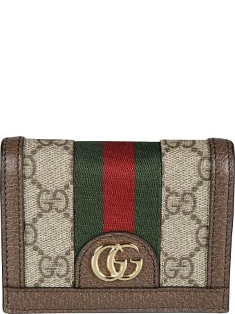Gucci Monogram Credit Card Holder