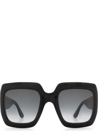 Gucci Gucci Gg0053s Black Sunglasses