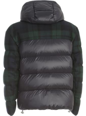 DRM Short Padded Jacket Tartan