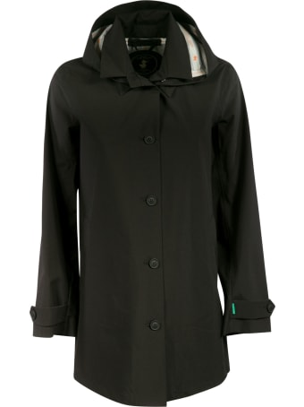 Save the Duck Hooded Buttoned Jacket