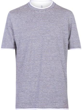 Brunello Cucinelli Striped T-shirt