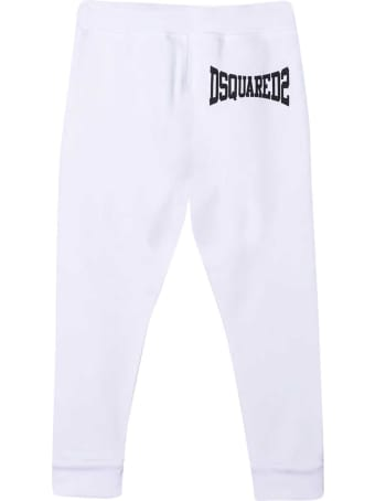 Dsquared2 White Teen Trousers