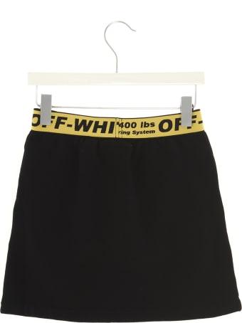 Off-White 'off Logo' Mini Skirt