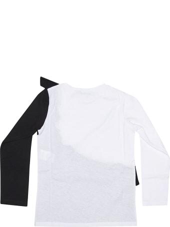 Vivetta Ruffled Detail Long Sleeve T-shirt