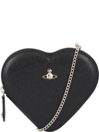 Vivienne Westwood Victoria New Heart Crossbody Bag