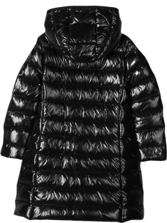 Moncler Moncler Enfant Unisex Black Long Down Jacket