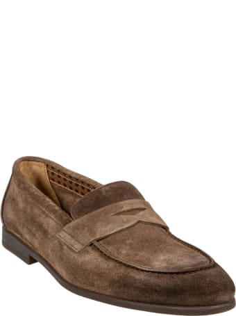 Doucal's Round Toe Loafers