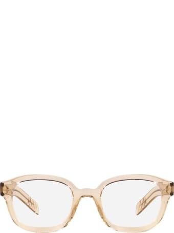 Prada Prada Pr 11wv Crystal Amber Glasses