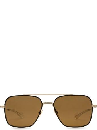 Dita Dita Dts111-57-04-z Black Gold Sunglasses