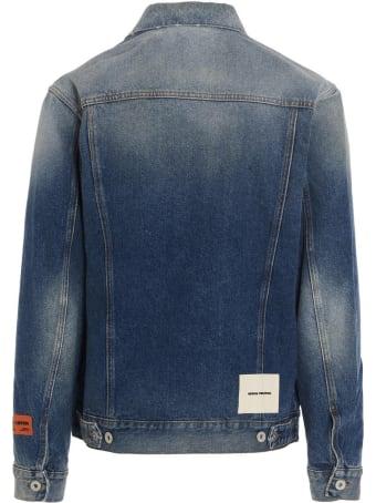 HERON PRESTON 'vintage Blue' Denim Jacket