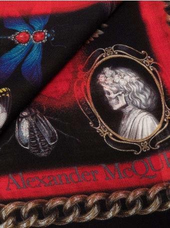 Alexander McQueen Shawl Vandalized Cam