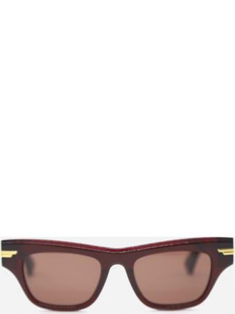 Bottega Veneta Sunglasses Made Of Acetate And Metal