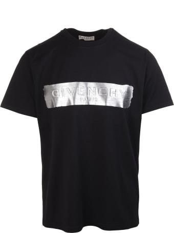 Givenchy 3d Metallic Logo T-shirt