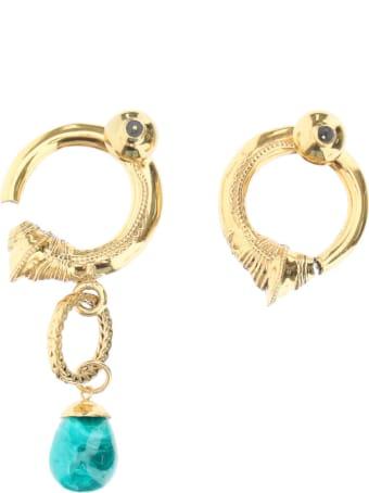 Patou Mismatching Hoop Earrings