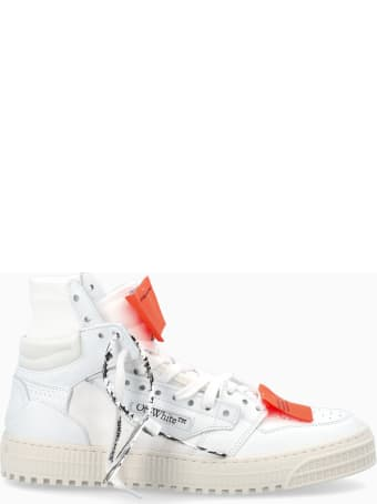 Off-White Off White White Leather Off Court 3.0 Sneakers