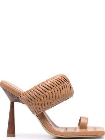GIA COUTURE Rosie Leather Sandals