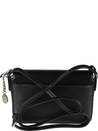 DKNY Embossed Logo Flap Shoulder Bag