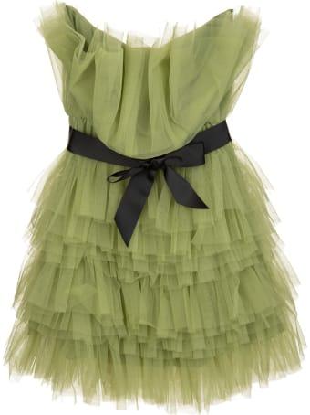 Teen Idol Green Zhora Mini Dress