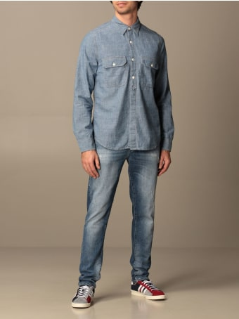 Cycle Jeans Cycle Jeans In Stretch Used Denim With Rips