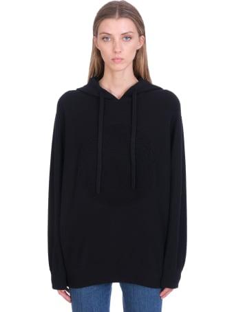 Versace Knitwear In Black Wool