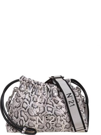 N.21 N ° 21 Eva Coulisse Bag With Animalier Print