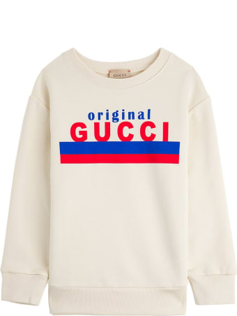 "Gucci Jersey Sweatshirt With ""original"" Print"
