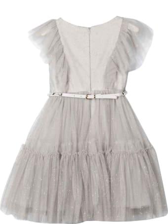 Monnalisa Gray Dress
