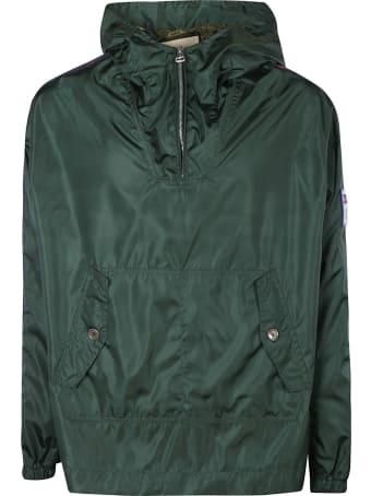 Gucci Stripe Sided Raincoat
