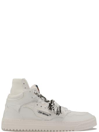 Off-White Fabric Sneaker